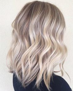 Image result for white blonde ombre