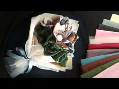 Scarf Packaging, Diy Bouquet, Hijab Tutorial, Scarf Hairstyles, Diy And Crafts, Wedding Gifts, Wraps, Gift Wrapping, Projects