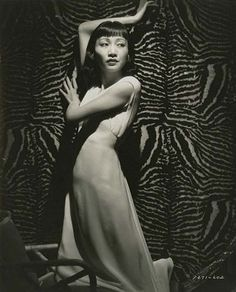 Anna May Wong #zebra