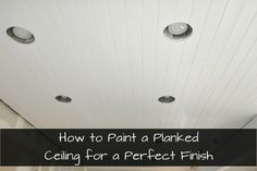 how to paint a plank