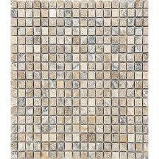 "7"" x 7"" Stone Mosaic Tile in Beige"