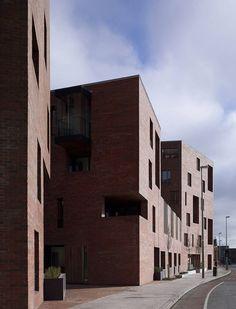 Timberyard Social Housing, Dublin, 2009 - ODonnell + Tuomey Architects Photo (C) Dennis Gilbert, Alice Clancy