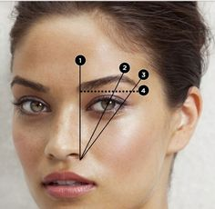 Eyebrows - Eye Makeup tips Eyebrow Makeup Tips, Skin Makeup, Beauty Makeup, Eyebrows On Fleek, Eye Brows, Make Up Tricks, Makeup Techniques, Tips Belleza, Eye Make Up