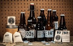 The best Beer Packaging / The Fermentation Society, WORK Labs