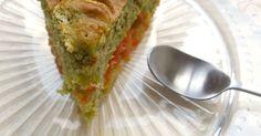 Moelleux au pamplemousse, thé matcha et fève tonka. . La recette par Rosenoisettes.