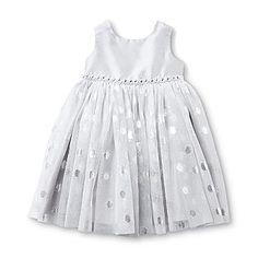 Blueberi Boulevard- -Infant & Toddler Girl's Sleeveless Party Dress $22