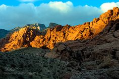 Red Rock Canyon - Pinned by Mak Khalaf Almost sunset Abstract  by solhwanghan