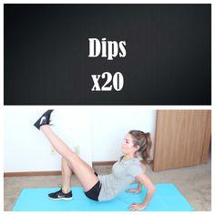 Leg dips! (Credit: Tess Christine)