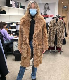 """Cecilia Bonstrom on Instagram: """"#fittings#fittings working on next @zadigetvoltaire #collection"""" Street Style 2016, Fur Coat, Jackets, Instagram, Collection, Fashion, Pictures, Down Jackets, Moda"""
