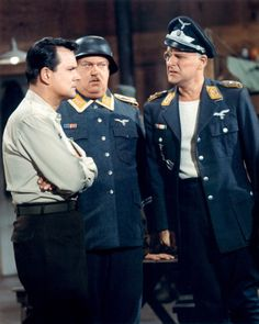 "Hogan ""talking sense"" into his captors-----Hogan's Heroes"