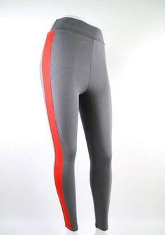 New Style women sport leggings High Waist Panelled Spliced yoga pants Pencil Cotton plus size Gym Fitness Running Leggings