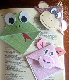 My Pick (Cute Critters Corner Bookmarks) / 'EOA' Link-Up #19 | Deep Roots at Home
