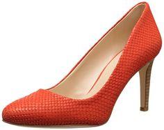 Nine West Women's Handjive Leather Dress Pump, Red Orange, 6.5 M US - http://all-shoes-online.com/nine-west/6-5-b-m-us-nine-west-womens-handjive-leather-dress-10