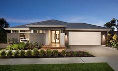 single story modern home facade - Google Search
