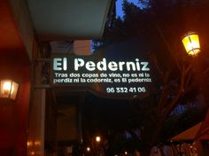 El Pederniz (Good Value Restaurant)