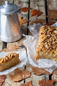 Bizcocho de manzana, toffe y nueces – Mis Lutier