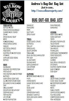 Andrew Wilkow Majority Bug Put Bag Just In Case