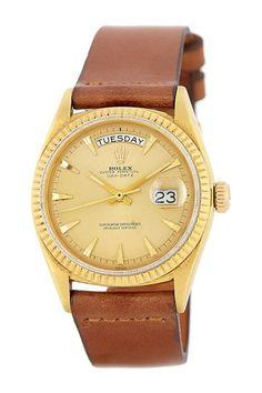 Rolex Men's/Unisex Day-Date 18K Yellow Gold Watch on HauteLook