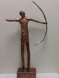 Little People sculpture. Middle school lesson plan, pipe cleaner armature, VASE jr. Medalist. #art, #sculpture, #middle school lesson plan