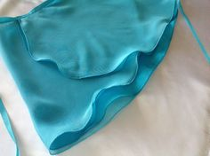 Double layer ballet wrap skirt in lovely shades by DesignsEnPointe