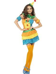 Fever+Colourful+Clown+Cutie+Costume