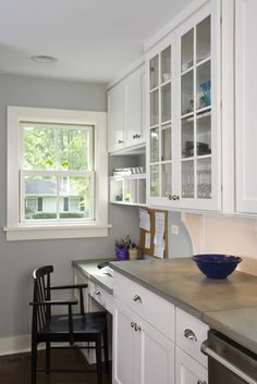 Mom's Desk in Kitchen - traditional - kitchen - chicago - Great Rooms Designers & Builders
