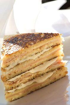 Where to get the best croque-monsieur in Paris according to chef Hélène Darroze.
