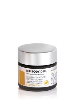 RADIANCE ENZYME SUPERFOOD PEEL (illuminating) - THE BODY DELI   $18 for 1oz. (For dry skin)