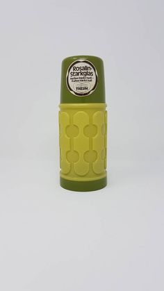 1970s Thermos-1970s Green Thermos - Vintage Thermo Flask-Super Therm Bottle - Seventies Thermo Bottle - Vintage Thermos - Picnic - Glamping by FrauleinCurlysShop on Etsy https://www.etsy.com/listing/548413093/1970s-thermos-1970s-green-thermos