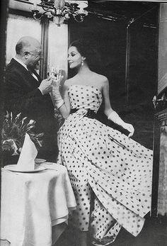 Harper's Bazaar editorial shot by Gleb Derujinsky 1960   Flickr