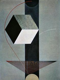 Proun 99 - El Lissitzky, 1924