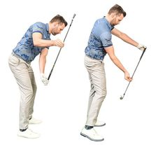 Slow Motion Golf Swing, Golf Lessons, Guitar Lessons, Golf Downswing, Golf Backswing, Golf Slice, Arm Work, Golf Practice, Golf Videos