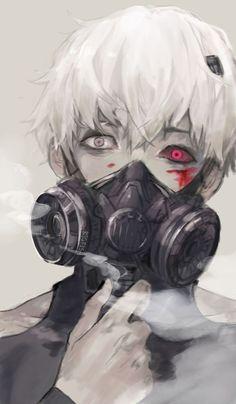 Cosplay Anime Kaneki Ken - Tokyo ghoul RE ,amazing art. Manga Anime, Manga Art, Anime Guys, Anime Art, Itori Tokyo Ghoul, Ken Kaneki Tokyo Ghoul, Mascara Kaneki, Tokyo Ghoul Wallpapers, Anime Lindo