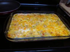Cheesy Shrimp-and-Grits Casserole. Photo by airlink diva