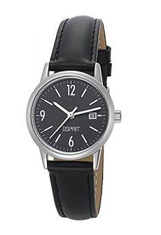 Sale Preis: Esprit Damen-Armbanduhr Gentle Absolute Slim Analog Quarz Leder ES100S62004. Gutscheine & Coole Geschenke für Frauen, Männer & Freunde. Kaufen auf http://coolegeschenkideen.de/esprit-damen-armbanduhr-gentle-absolute-slim-analog-quarz-leder-es100s62004