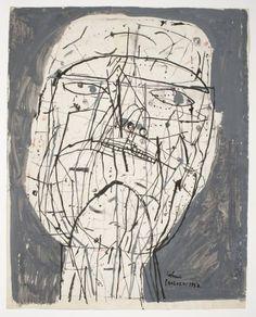 Sir Eduardo Paolozzi, 'Man's Head' 1952-3