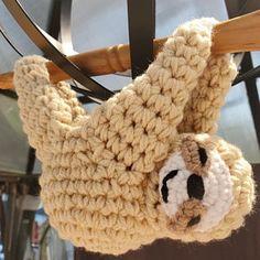 Sloth Planter Crochet Pattern Mini Succulent Planter Hanging Crochet Planter Animal Planter Sloth Crochet Sharon Added A Photo Of Their Purchase Crochet Sloth, Kawaii Crochet, Crochet Animals, Crochet Hat For Women, Diy Bird Feeder, Crochet Home Decor, Faux Fur Pom Pom, We Are The World, Crochet Round
