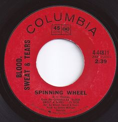 Spinning Wheel / Blood, Sweat & Tears / #2 on Billboard