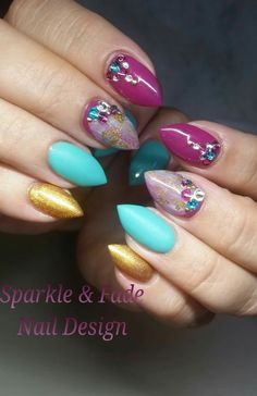 Elegant Nails - Done by Christine Ingalls of Sparkle and Fade Nail Design  https://www.facebook.com/SparkleAndFadeNailDesign