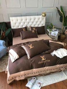 Luxury Bedding Designs – unique-homedesign Bed Cover Sets, Bed Covers, Bedding Sets, Comforters, Bed Ideas, Blanket, Bedroom, Luxury, Girls