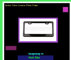 Carbon fibre license plate frame 180948 - The Best Image Search