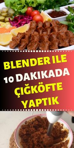Blender ile zahmetsiz ikfte yapm lemon garlic butter chicken and green beans skillet Blender Recipes, Gourmet Recipes, Pasta Recipes, Cooking Recipes, Healthy Recipes, Turkish Kitchen, Turkish Recipes, Food Pictures, Food Videos