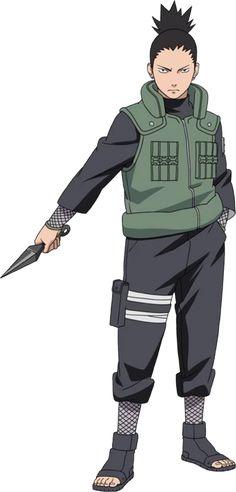 Shikamaru Nara (奈良シカマル, Nara Shikamaru) es uno de los personajes principales de soporte de la...