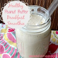 My Favorite Healthy Breakfast Smoothie Recipe - Mindfully Frugal Mom
