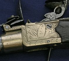Flintlock Box-Lock Pocket Pistol by Smith of London