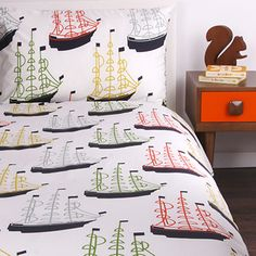 Orla Kiely - Kids Around the World duvet set. I love this! Do they make it for adults?