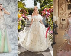 22 Chic and Playful Wedding Dresses for Modern Romantic Brides!