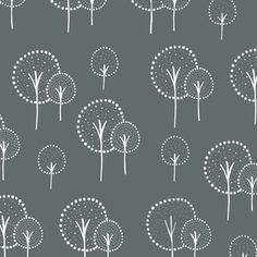 Lotta Jansdotter - Glimma Canvas - Kulla in Slate - Possible Bedroom Curtains