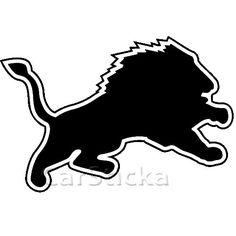 Detroit Lions Logo NFL Car Wall Vinyl Sticker Decal | eBay