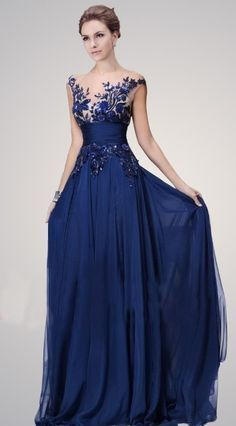 Royal Blue Chiffon Lace Prom Dresses, Graduation Party Dresses, Formal Gowns, Evening Dresses sold by PromChoice. Shop more products from PromChoice on Storenvy, the home of independent small businesses all over the world. Stunning Dresses, Beautiful Gowns, Pretty Dresses, Event Dresses, Prom Dresses, Formal Dresses, Dream Dress, Evening Gowns, Chiffon Evening Dresses